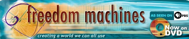 Welcome to the Freedom Machines website